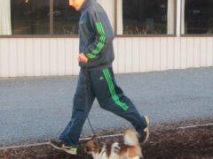 lopen met de hond